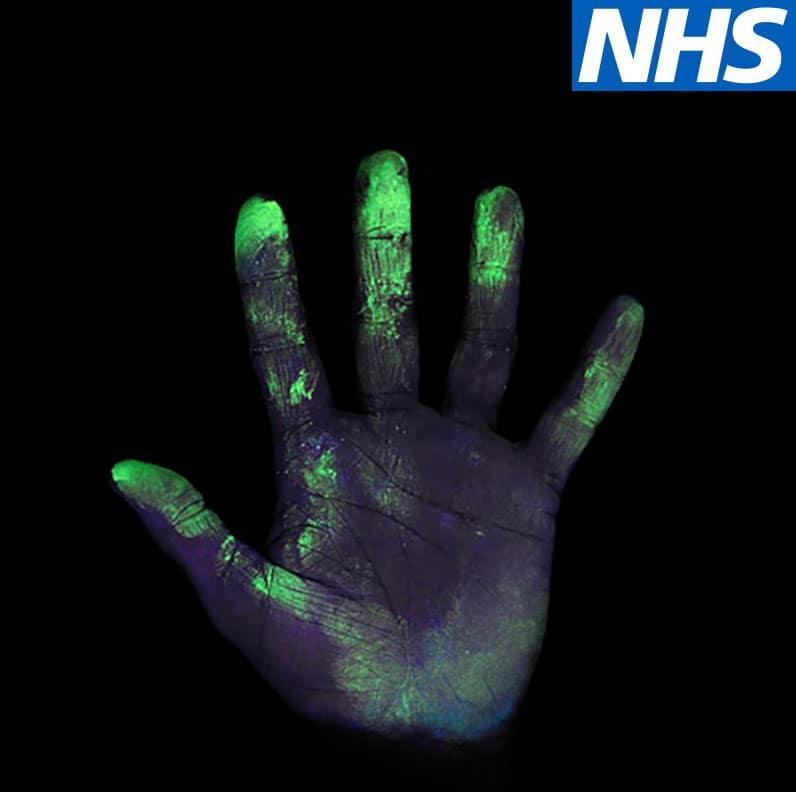 Virus on hand